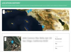 Location History section